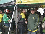 Photos: Soggy Saturday tailgating at Autzen Stadium