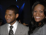 Usher's ex-wife holds 5K run to honor son who died