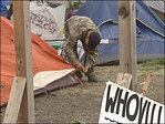 City strikes deal with non-profit on pilot homeless camping site