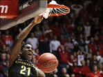 No. 10 Oregon beats Utah 70-68 in OT