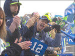 Photos: Thousands of fans rally at Seahawks send-off