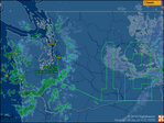 Boeing 747 flies Seahawks '12' pattern over Washington