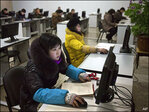 Wary N. Korea struggles to stay afloat in info age