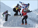 Snowboarding Olympians catch big air at Sochi
