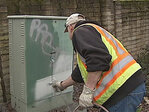 City crews spend 20 hours a week painting over graffiti