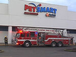 PetSmart evacuated after explosion, smoke