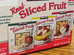 Company recalls dried fruit