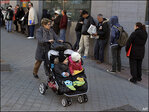 European unemployment stuck near record high