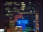 Tetris in the sky: Gamers play on Philly building