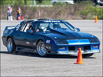 'Autocross is a solo sport. One car at a time and racing against the clock'