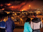 11 dead as fire rages in Chile's historic Valparaiso