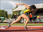 Athletes compete Saturday at the Oregon Relays