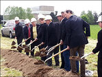 Breaking ground on Eugene's new VA Outpatient Clinic