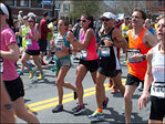Locals run 118th Boston Marathon: 'It will help this town move on'