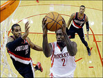 Trail Blazer Aldridge ready for Game 2 against Rockets