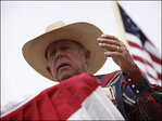 Nevada rancher defends race remarks, loses supporters