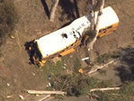 Driver, 2 kids critical after SoCal school bus crash