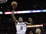 Spurs end Blazers' season with 104-82 win