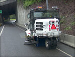 Street-sweeper operator charged with drunk driving