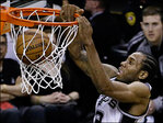 Spurs beat the Heat 104-87 to take the NBA title