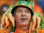 Photos: Painted faces, wild fans at World Cup 2014