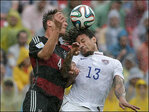 US advances in World Cup despite 1-0 loss to Germany