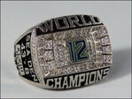 Seahawks fan creates Super Bowl ring for the 12s