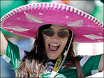 Die-hard fans bring color to World Cup