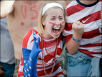 Photos: World Cup fans go wild as US plays Belgium