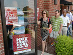 U.S. companies add jobs at solid pace in August