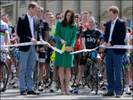 Photos: Kate, Prince William kick off Tour de France