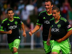 Sounders score 2 in extra time, beat Timbers 3-1