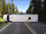 7 hospitalized after Grand Teton tour bus crash