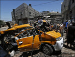 Israel intensifies Gaza attacks as cease-fire collapses