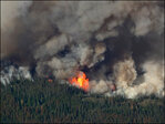 'Funnel of fire' destroys homes in Washington