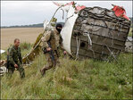 Ukraine: Russia is helping destroy plane crash evidence