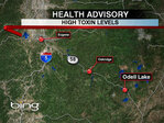Health advisory issued for Odell Lake