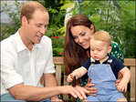 Big hubbub as Britain's little prince turns 1