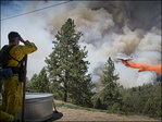 Drone almost blocks California firefighting planes