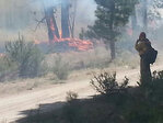 Swift response helps keep fire near Klamath Falls to 200 acres