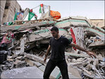 Israel hits Gaza power plant, symbols of Hamas rule