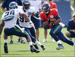 Day 8 of Seahawks training camp