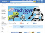 Wal-Mart's website to personalize shopping