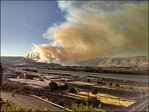 More evacuations ordered as Rowena wildfire crests ridge near The Dalles