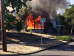Firefighters suspect cigarette set Roseburg house on fire