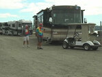 RV rally at casino: 'We eat and party a little bit'