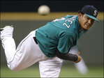 Hernandez brilliant as Mariners jolt Blue Jays 11-1