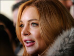 Lindsay Lohan: 'I'll probably mess up' at London stage debut