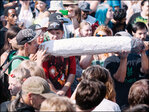 Photos: Thousands light up for Hempfest Day 2