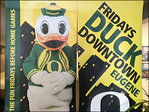 Party with the Duck Downtown before each Oregon home game